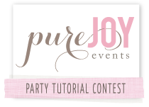 Pure Joy Events button