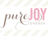 Pure Joy Events blog button